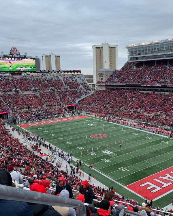 Ohio Stadium, vak: 10C, rij: 15, stoel: 31