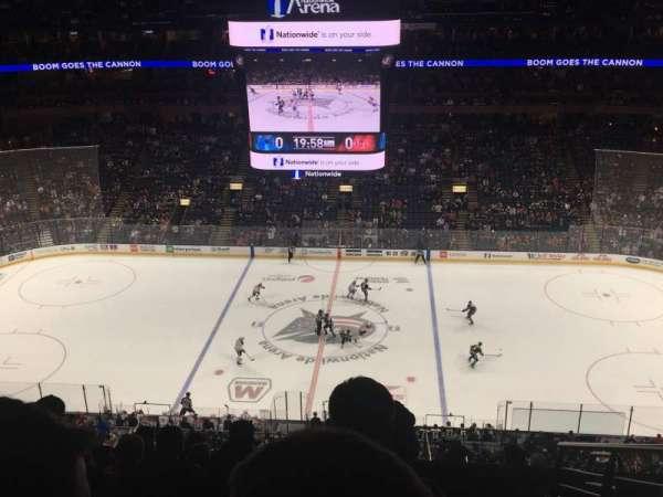 Nationwide Arena, vak: 203, rij: J