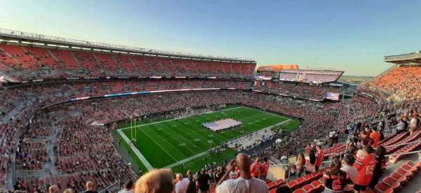 FirstEnergy Stadium, vak: 503, rij: 17, stoel: 2