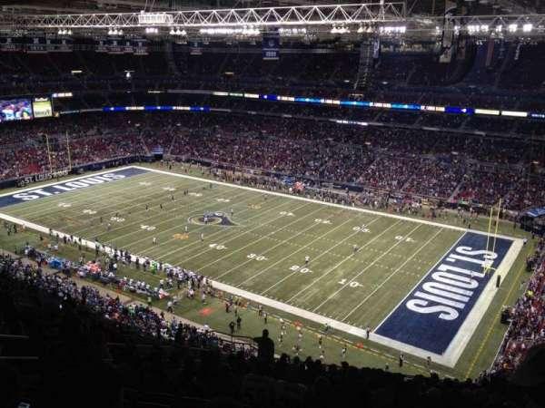 The Dome at America's Center, vak: 435, rij: RR, stoel: 13
