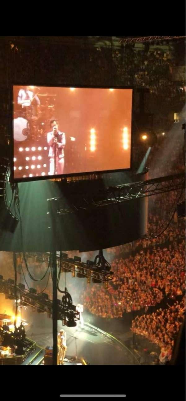 Scotiabank Arena, vak: 312, rij: 3, stoel: 25