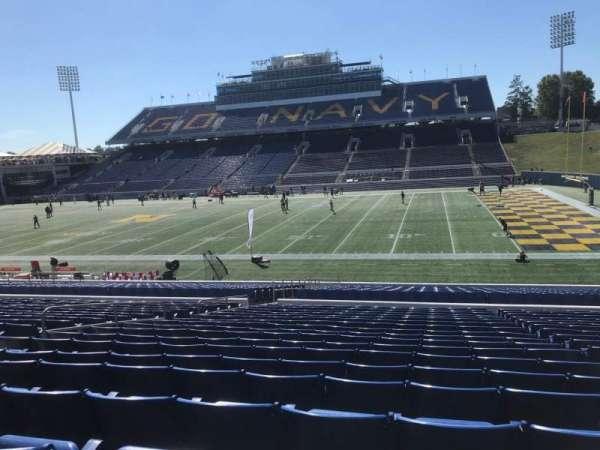 Navy-Marine Corps Memorial Stadium, vak: 26, rij: 19, stoel: 22