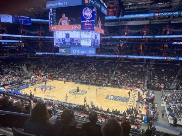 Capital One Arena, vak: 202, rij: F, stoel: 4