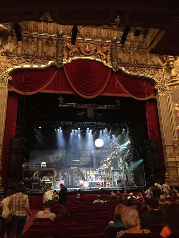 Nederlander Theatre (Chicago), vak: Orchestra C, rij: U, stoel: 101
