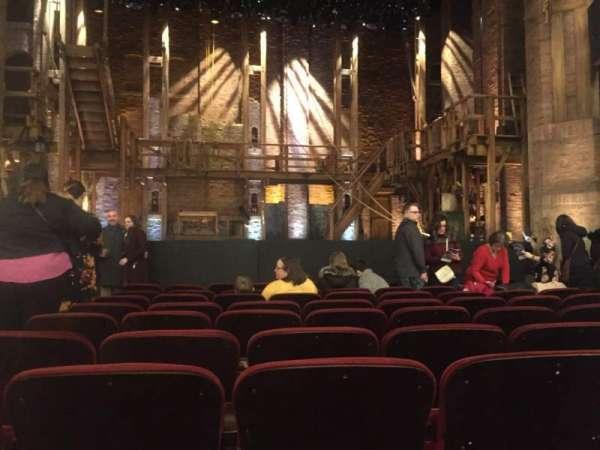 CIBC Theatre, vak: Orchestra C, rij: K, stoel: 103