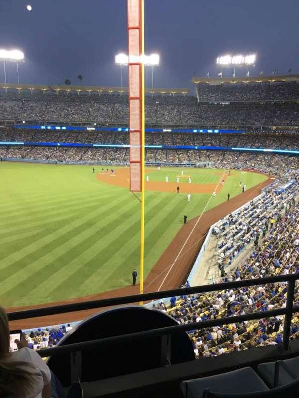 Dodger Stadium, vak: 257 Club, rij: C, stoel: 5