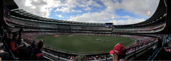 Melbourne Cricket Ground, vak: N23, rij: B, stoel: 10