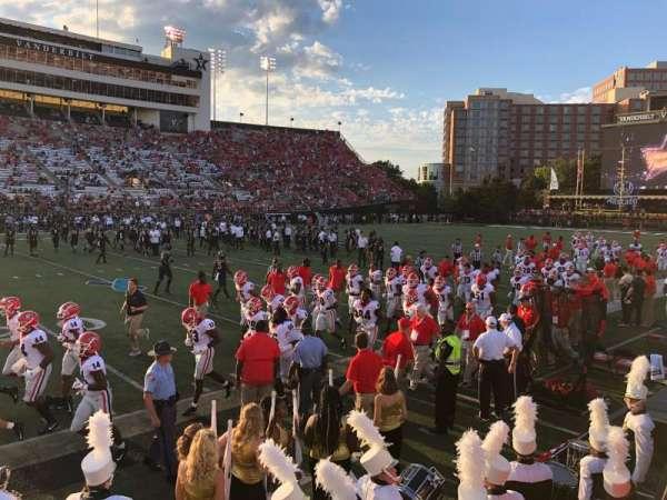 Vanderbilt Stadium, vak: P, rij: 6