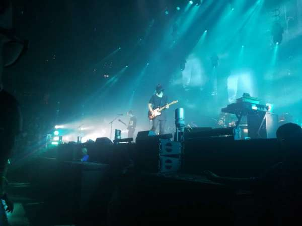 TD Garden, vak: GA Floor, rij: GA, stoel: GA