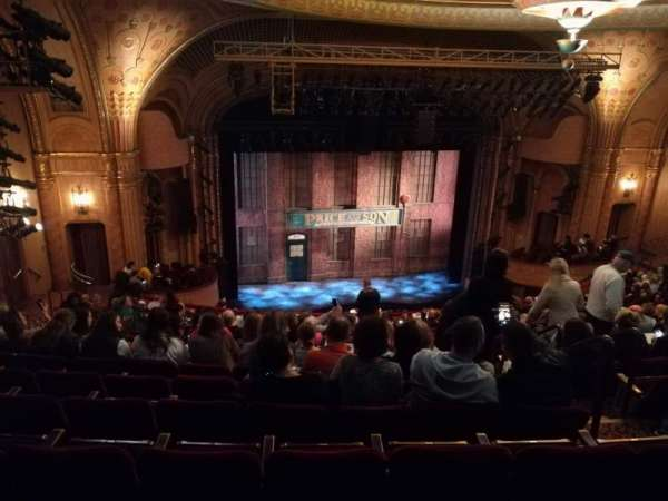 Al Hirschfeld Theatre, vak: MEZZL, rij: S, stoel: 9