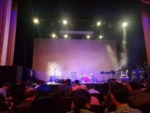 Lincoln Theatre, vak: Center ORCH, rij: F, stoel: 110
