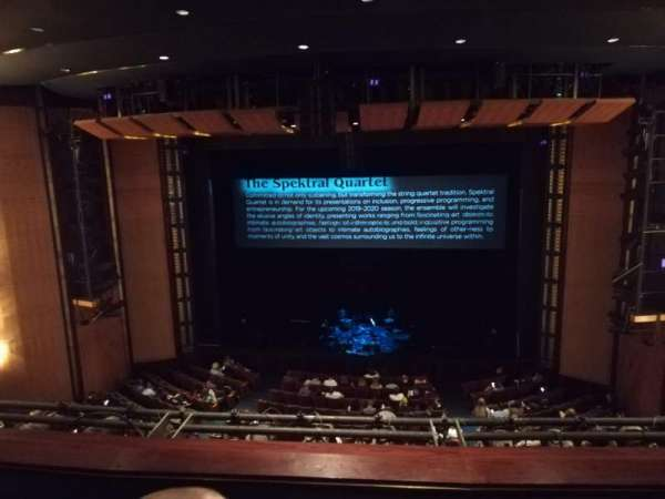 The Kennedy Center Eisenhower Theater, vak: Balcony, rij: C, stoel: 103