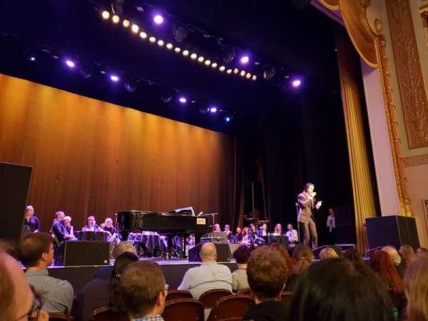 Lincoln Theatre, vak: Orchestra Left A-K, rij: C, stoel: 5