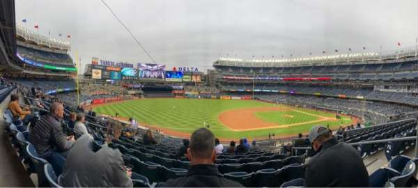 Yankee Stadium, vak: 227A, rij: 10, stoel: 5