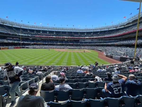 Yankee Stadium, vak: 134, rij: 15, stoel: 19