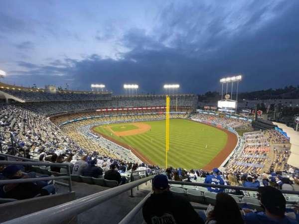 Dodger Stadium, vak: 50RS, rij: CC, stoel: 16