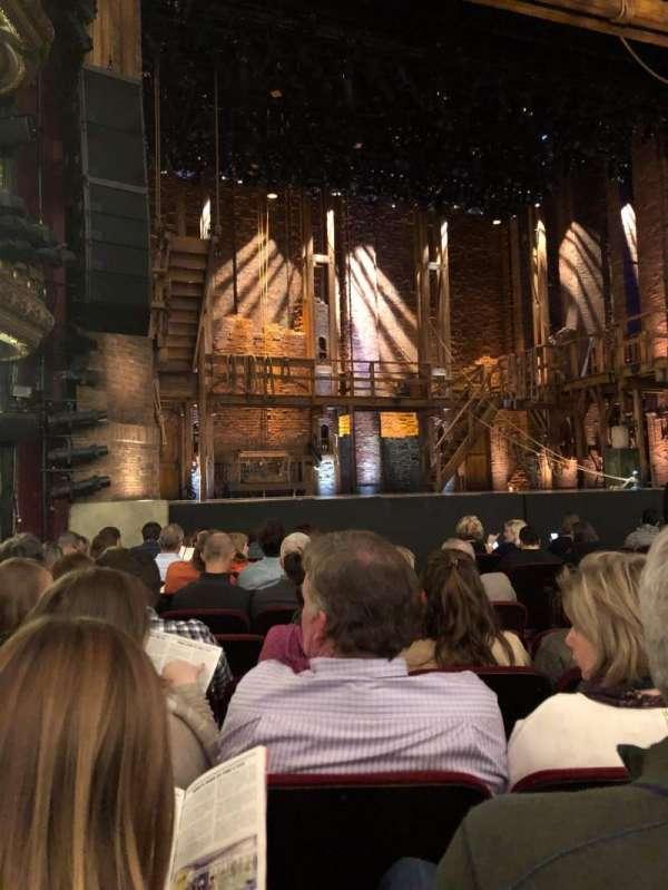 CIBC Theatre, vak: ORCH-L, rij: L, stoel: 15