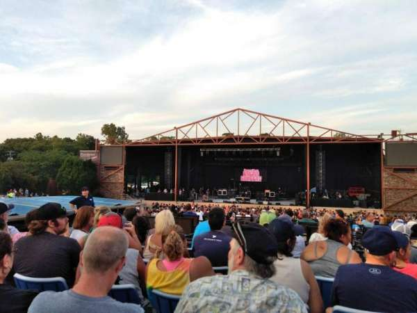 Providence Medical Center Amphitheater, vak: 10, rij: G, stoel: 7
