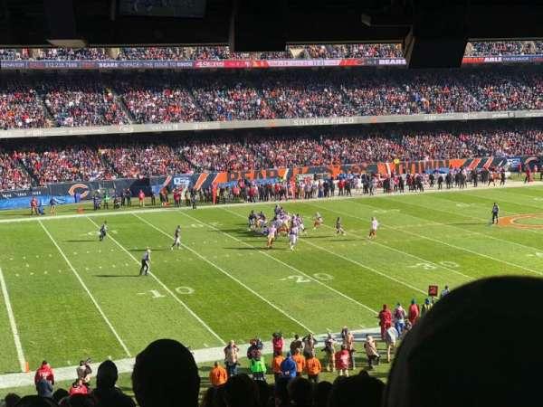 Soldier Field, vak: 242, rij: 12, stoel: 5