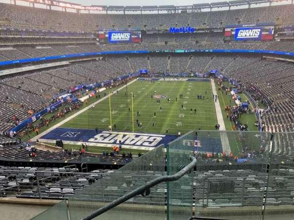 MetLife Stadium, vak: 225B, rij: 3, stoel: 1