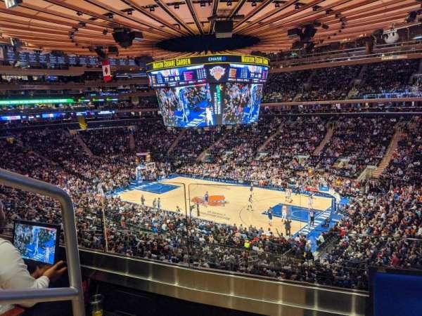 Madison Square Garden, vak: 214, rij: 2, stoel: 1