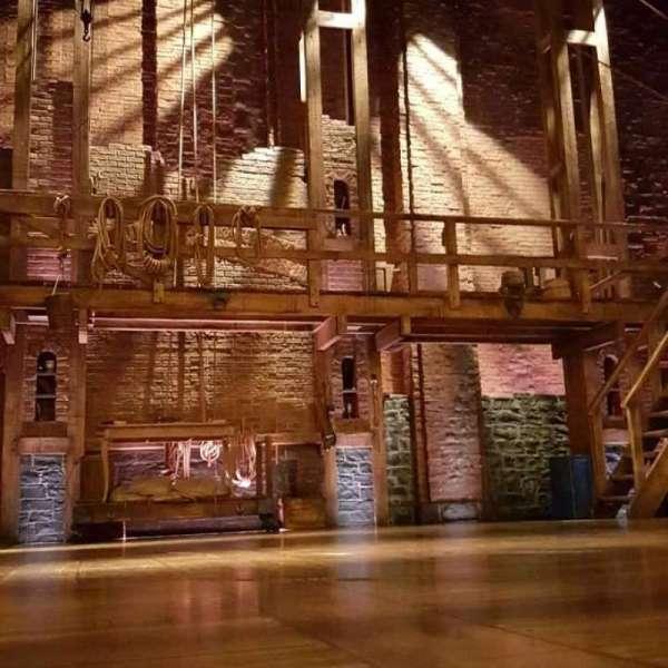 Richard Rodgers Theatre, vak: Orch, rij: CC, stoel: 113
