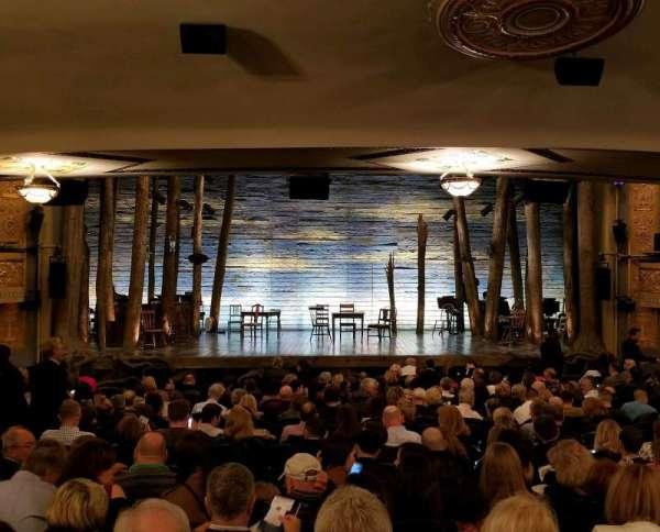 Gerald Schoenfeld Theatre, vak: SRO, stoel: 103