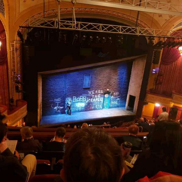Bernard B. Jacobs Theatre, vak: Mezz, rij: J, stoel: 17