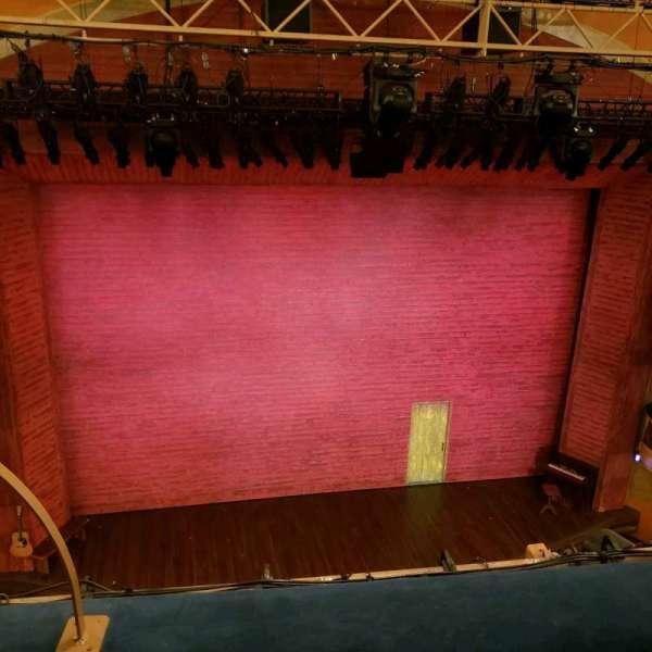 Shubert Theatre, vak: Balcony, rij: B, stoel: 114