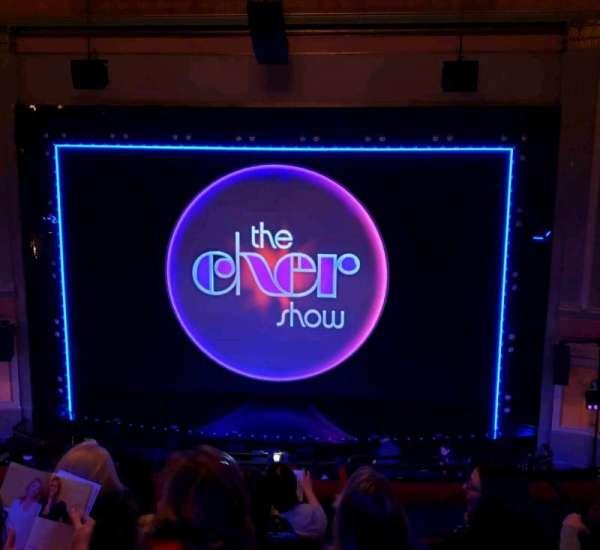 Neil Simon Theatre, vak: Mezz, rij: F, stoel: 116