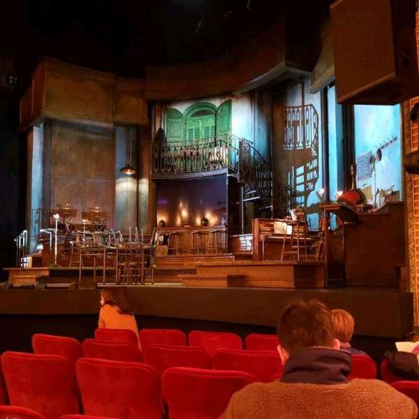 Walter Kerr Theatre, vak: Orch, rij: G, stoel: 8