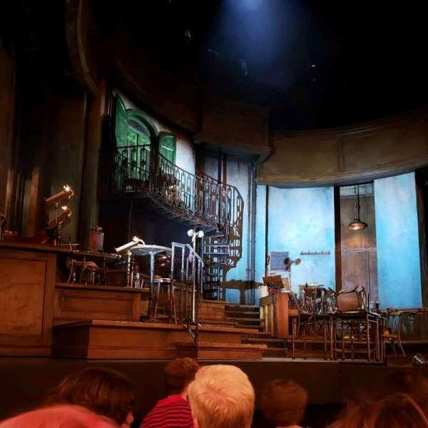 Walter Kerr Theatre, vak: Orch, rij: E, stoel: 7