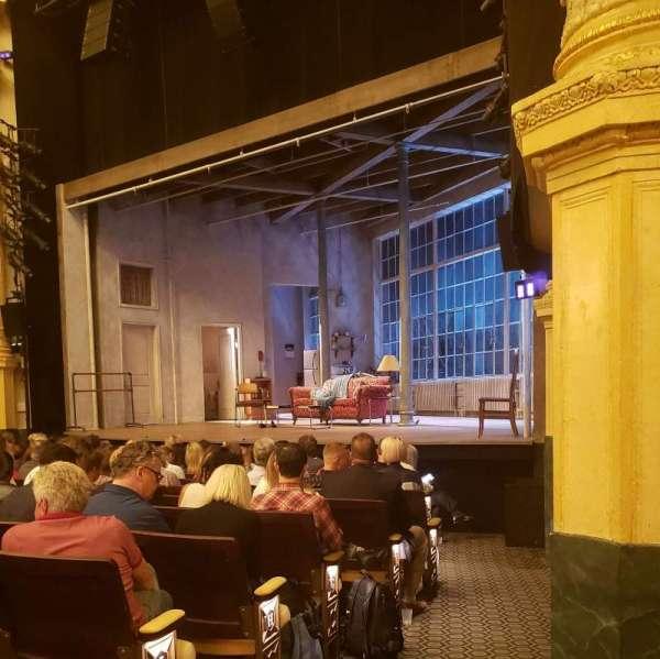 Hudson Theatre, vak: Orch, rij: M, stoel: 12