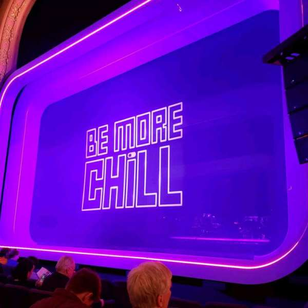 Lyceum Theatre (Broadway), vak: Orch, rij: F, stoel: 8