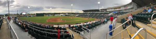Hammond Stadium, vak: 216, rij: 1, stoel: 3