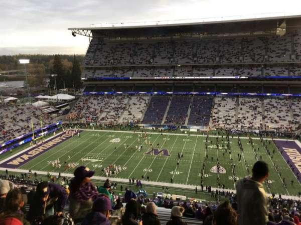 Husky Stadium, vak: 328, rij: 34, stoel: 2