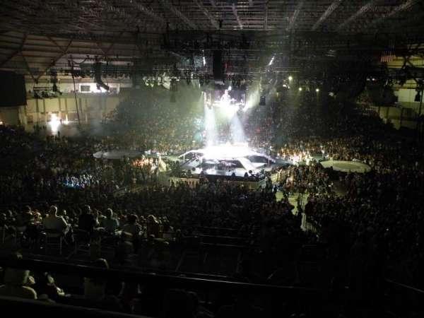Tacoma Dome, vak: 7B, rij: 2, stoel: 5