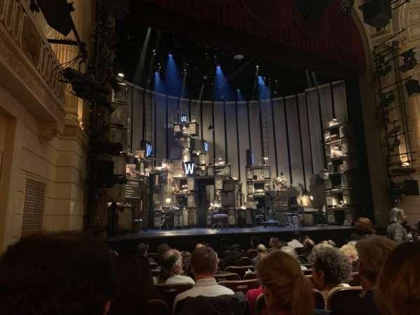 Samuel J. Friedman Theatre, vak: Orchestra L, rij: H, stoel: 123