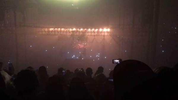 Allstate Arena, vak: 206, rij: J, stoel: 27
