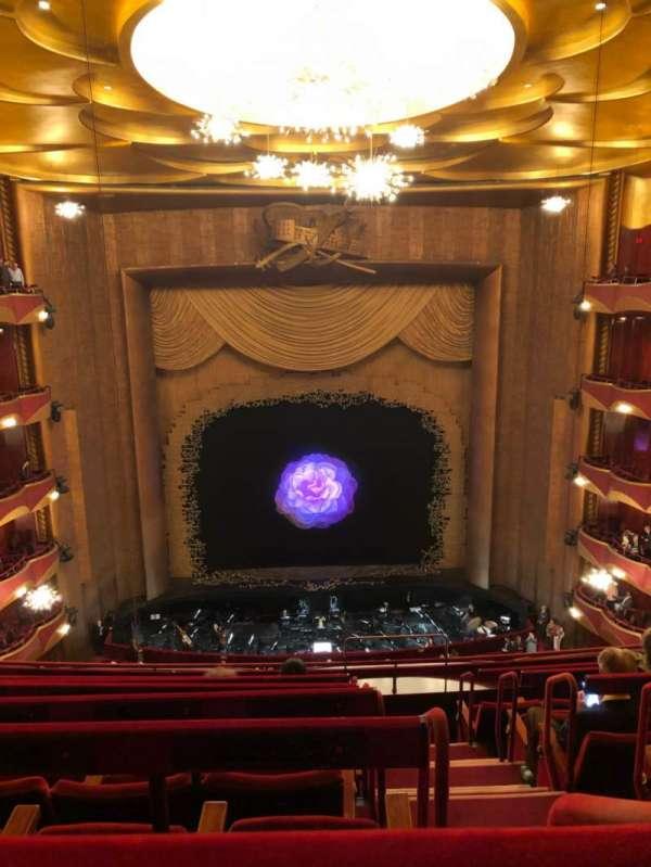Metropolitan Opera House - Lincoln Center, vak: Bakcony, rij: G, stoel: 103