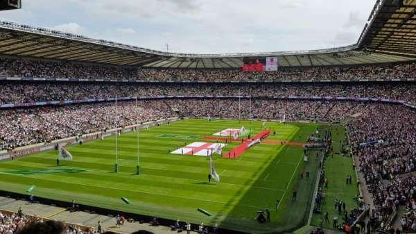 Twickenham Stadium, vak: M17, rij: 68, stoel: 38