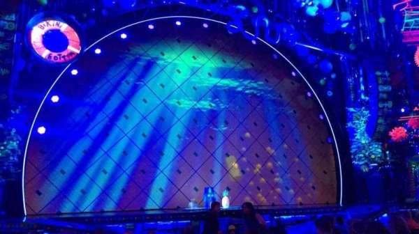 Palace Theatre (Broadway), vak: Orchestra, rij: L, stoel: 13