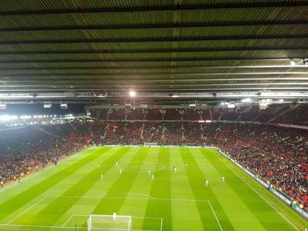 Old Trafford, vak: E334, rij: 14, stoel: 69