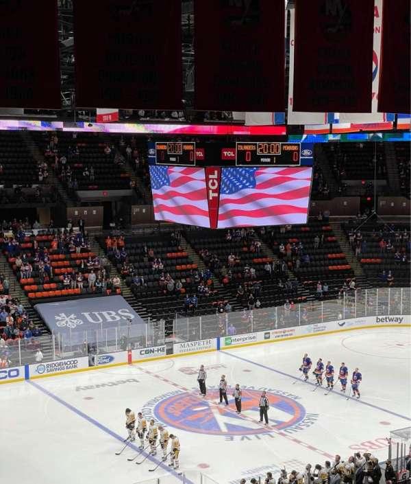 Nassau Veterans Memorial Coliseum, vak: 226, rij: 9, stoel: 8