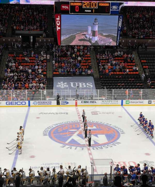 Nassau Veterans Memorial Coliseum, vak: 224, rij: 6, stoel: 16