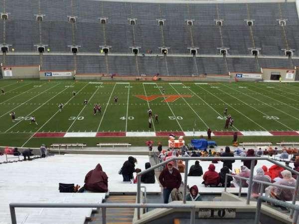 Lane Stadium, vak: 10, rij: TT, stoel: 3