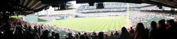 Oriole Park at Camden Yards, vak: 79, rij: 10, stoel: 14