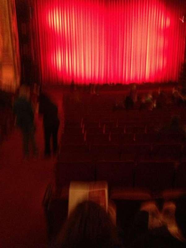 Cadillac Palace Theater, vak: orchestra l, rij: V, stoel: 1