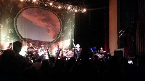 Paramount Theatre (Denver), vak: ORCH L, rij: L, stoel: 1