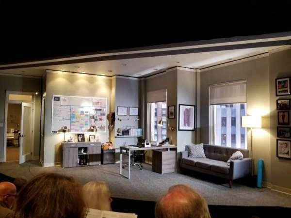 Kirk Douglas Theatre, vak: Main, rij: D, stoel: 115